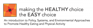 Making the Healthy Choice the Easy Choice Logo